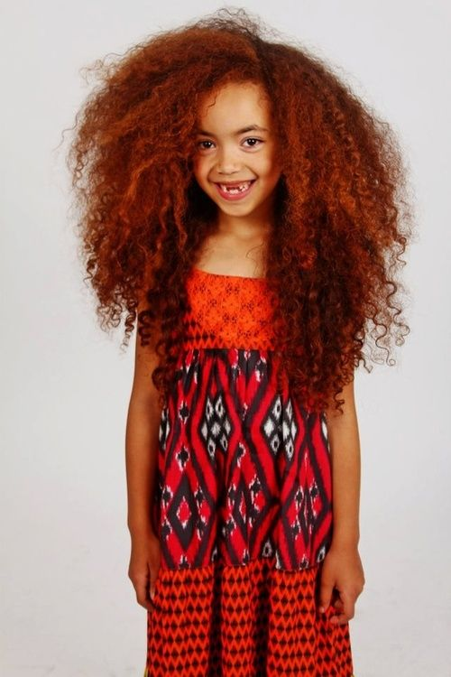 Aww, look at her! :-) #NaturalHair