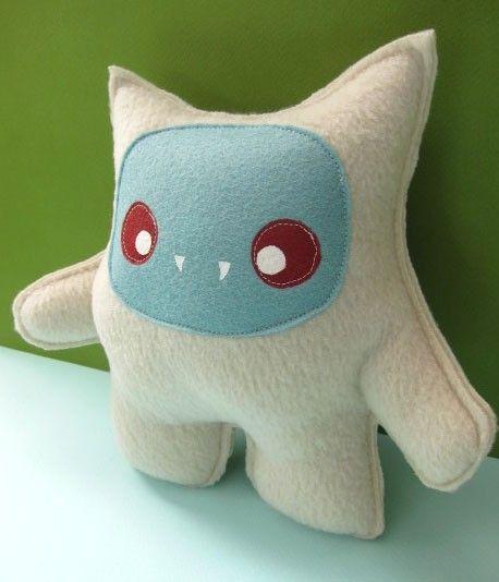 adorable little vampire monster toy