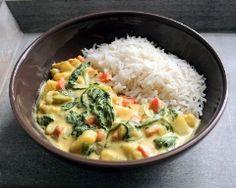 curry de légumes (vé