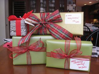 lucky kate: I was a professional gift-wrapper.