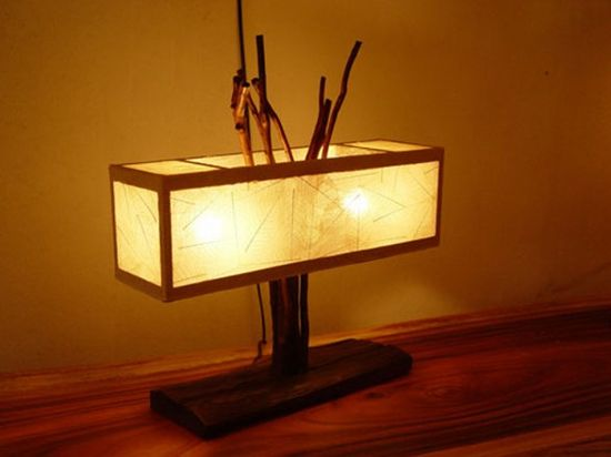 Romantic Wood Lighting for Valentine Decorating by Lamp Art Design