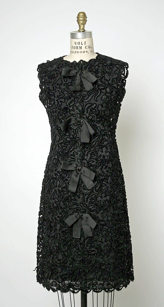 Balenciaga Lace Evening Dress, 1963-64