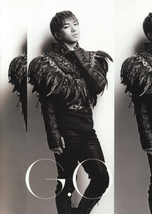 G.O (??) of MBLAQ. Concept photo from 100% VER. Album