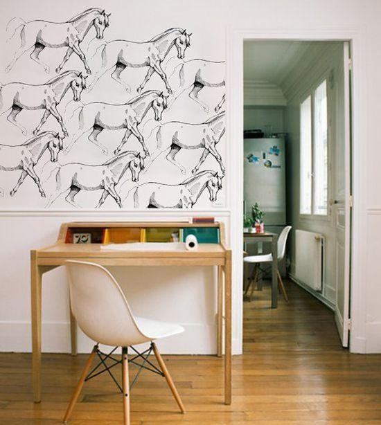 Girl Horse Wallpaper