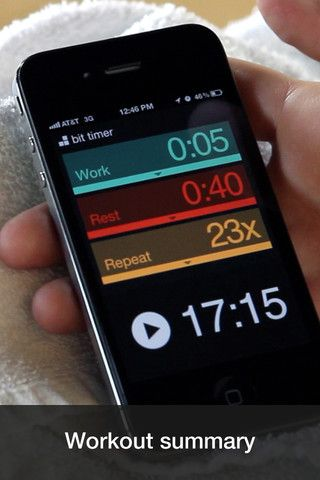 A lovely iPhone app to do interval training.