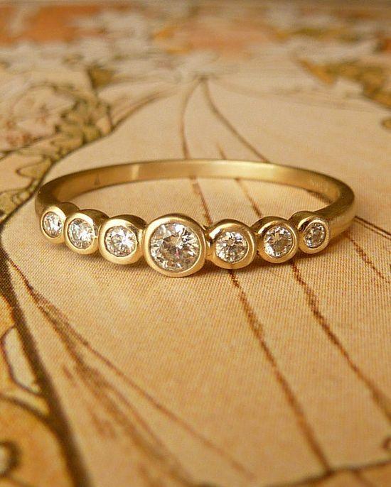Band of diamonds.