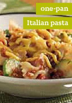 One-Pan Italian Pasta