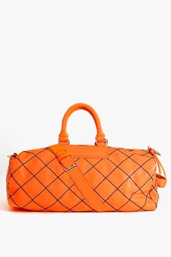 Jet Set Weekender Bag in Orange