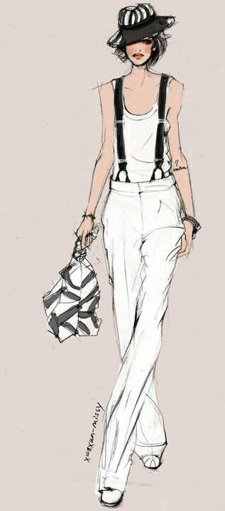 #Fashion #sketches