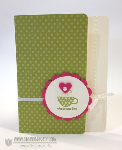Stampin up stampinup order pretty saleabration patterned occasions card idea catalog punch
