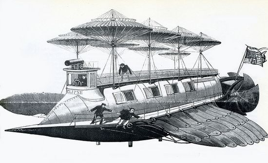 1892--Flying Ship 'Eclipse' ?