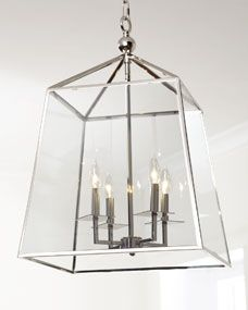 Island fixtures / Regina-Andrew Design Square Glass Chandelier