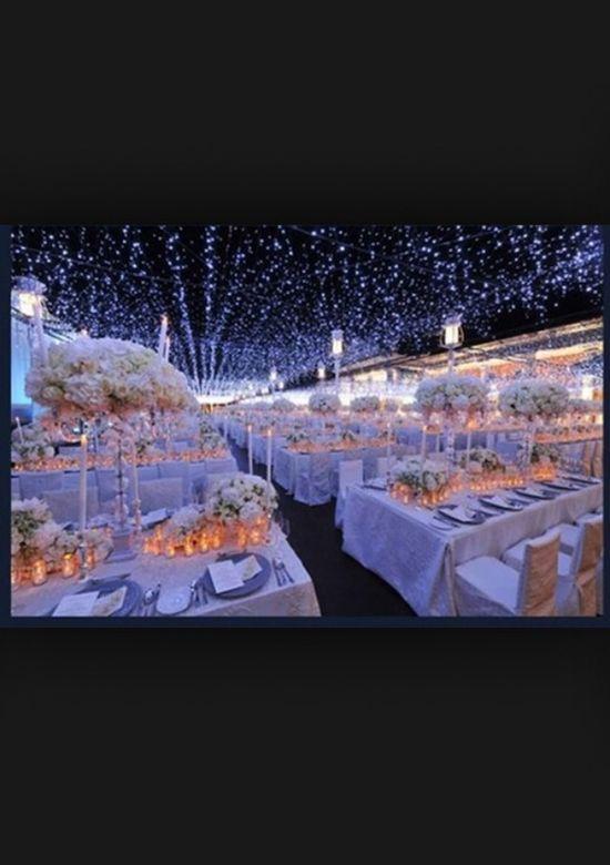 Night sky wedding theme