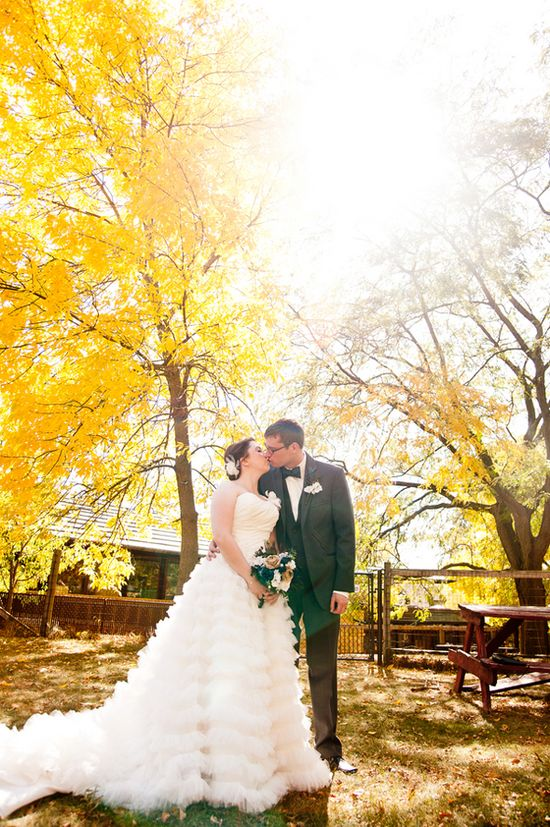Gorgeous DIY Fall Wedding #fall #wedding #photography