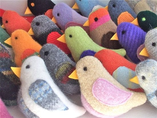 I want to put these birds on everything!