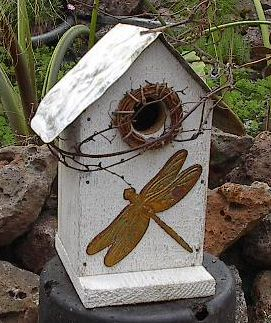 Rustic Bird House  :)