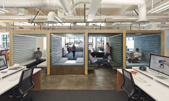 Square Inc. Offices by o+a