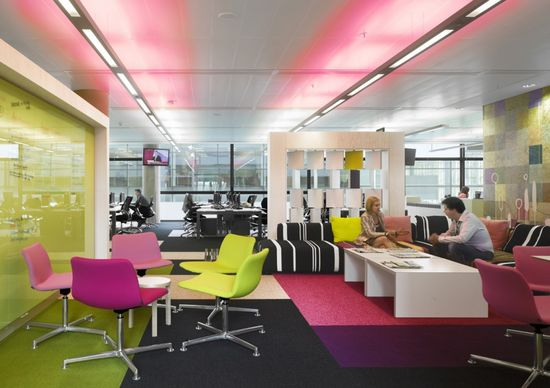Urban Design Takes Centerstage At The Offices Of BBC North