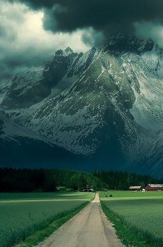 The French Alps.