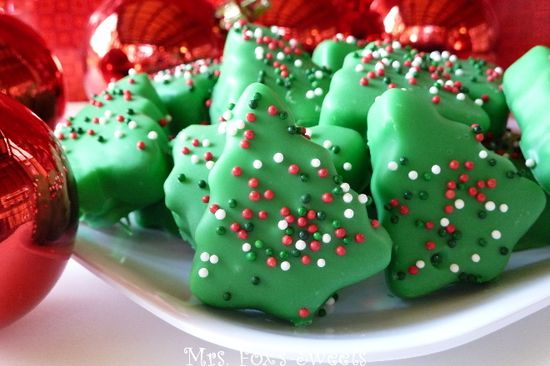 Homemade Holiday Peppermint Patties