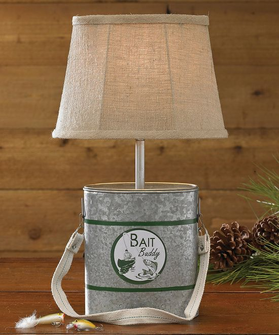 Minnow Bucket Lamp & Shade by Park Designs