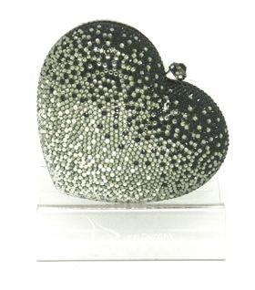 handmade swarovski crystal party clutch, evening bag, handbag,bling