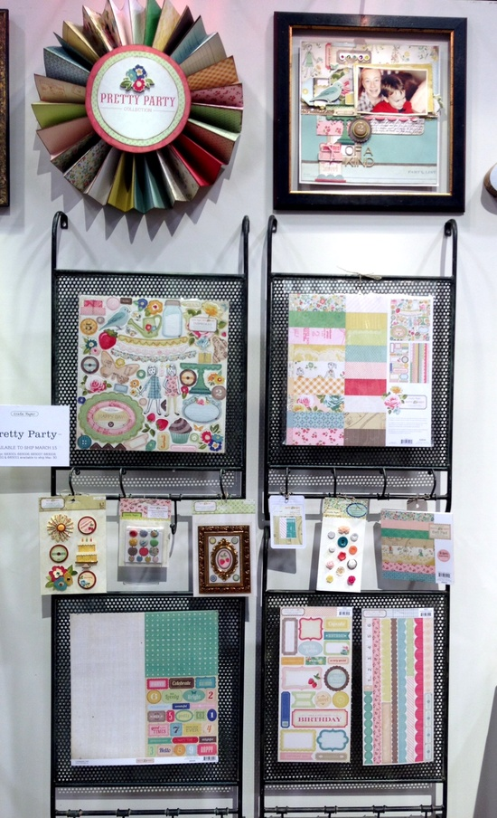 NEW Crate Paper CHA - Pretty Party Collection - Scrapbook.com