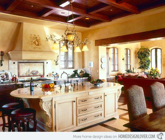 15 Stunning Mediterranean Kitchen Designs