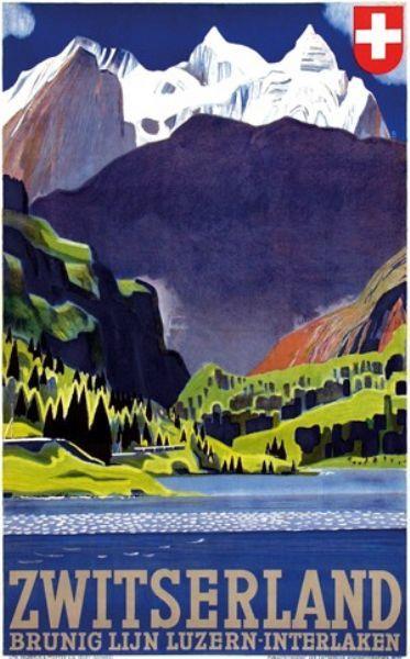 Swiss Travel poster