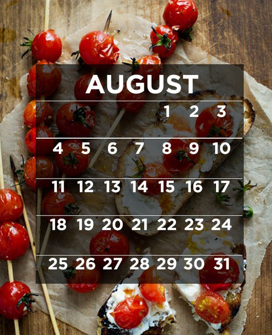 31 Amazing Things To Cook In August