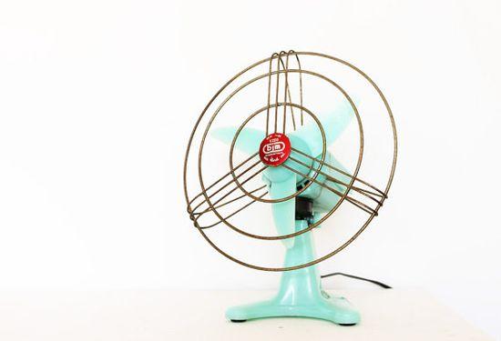 Retro fan.