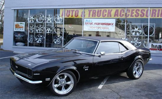 American Muscle Cars.