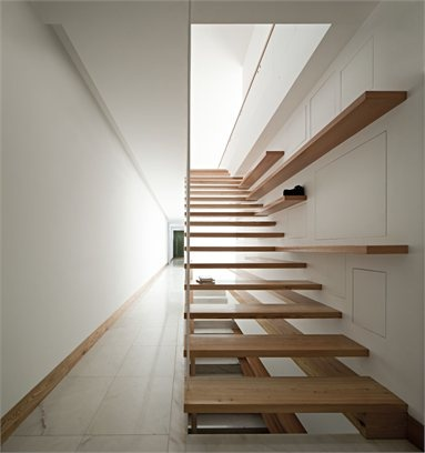 House in Moreira - Moreira, #Portugal - 2012 - Phyd Arquitectura #design #interiors #stair #architecture