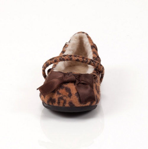 Leopard Flat with Bow - Lil' Girl Fashion Shoes - Events
