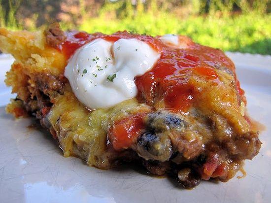 Taco Cornbread #art of cooking #cooking recipe