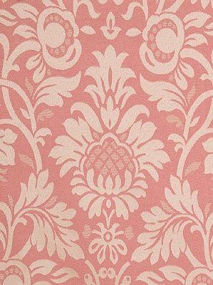 Fabricut Fabrics Wakefield-Coral $40.99 per yard #interiors #decor #pinkfabric