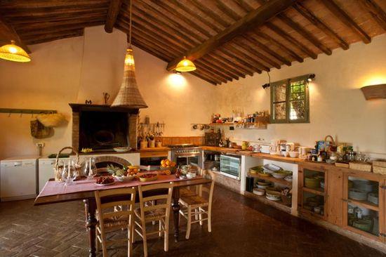 Farm Kitchen. Villa Cetinale - Cerbaia