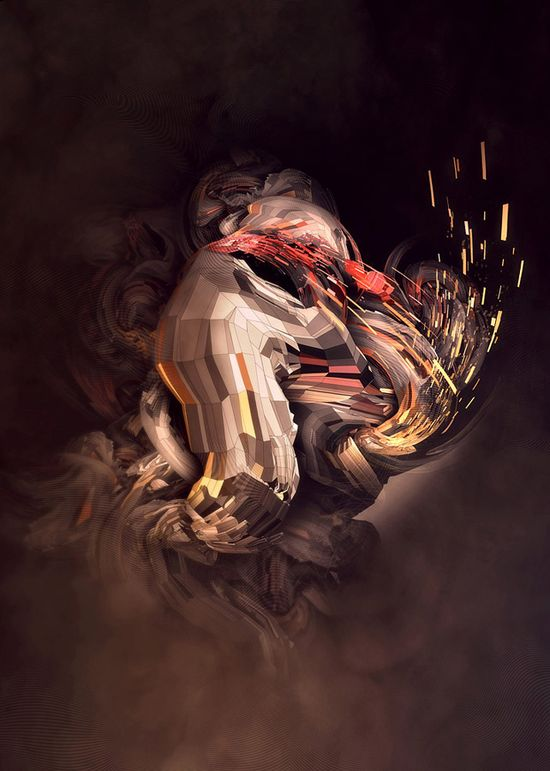 20 Creative Abstract Graphic Illustrations and Photo manipulations by Nik Ainley