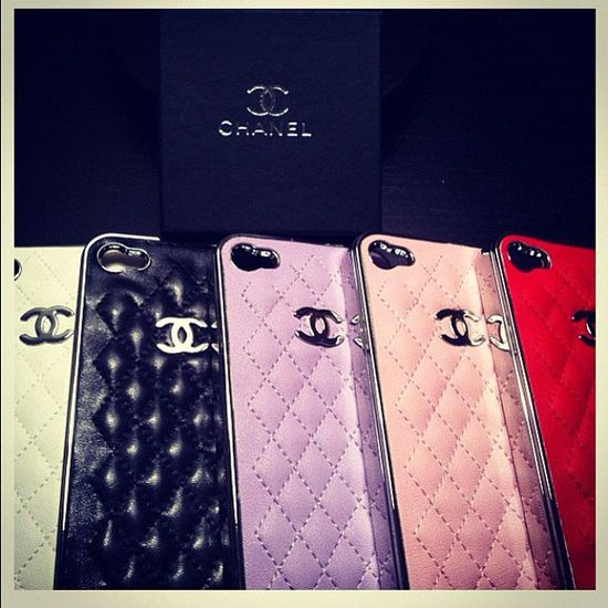Chanel iPhone cases!! LOVE!