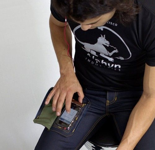 Jeans Solve First World Problem With See-Through Smartphone Pocket