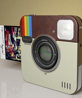 Instagram Camera... cool.