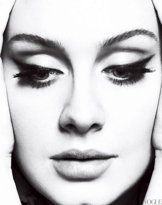 adele in vogue.