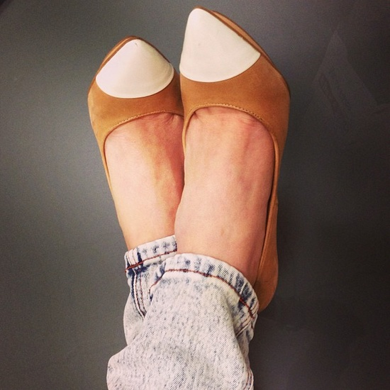 Kick up your heels.