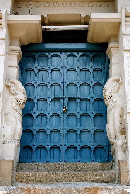 Door in India.