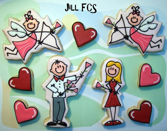 """""""i love you"""" #cookie set {Jill FCS on flickr}"""