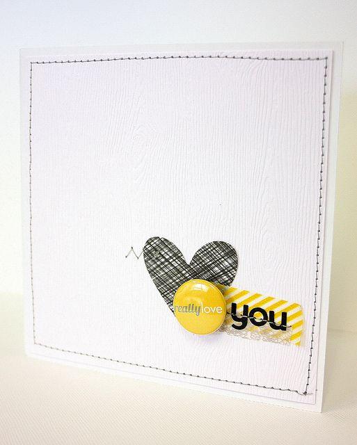 Really Love You Card by @Joscelyne Marie Cutchens