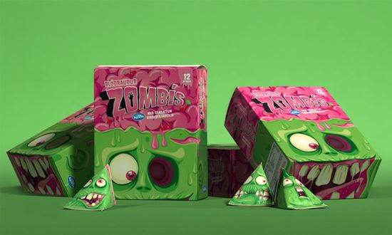 Zombis, un packaging
