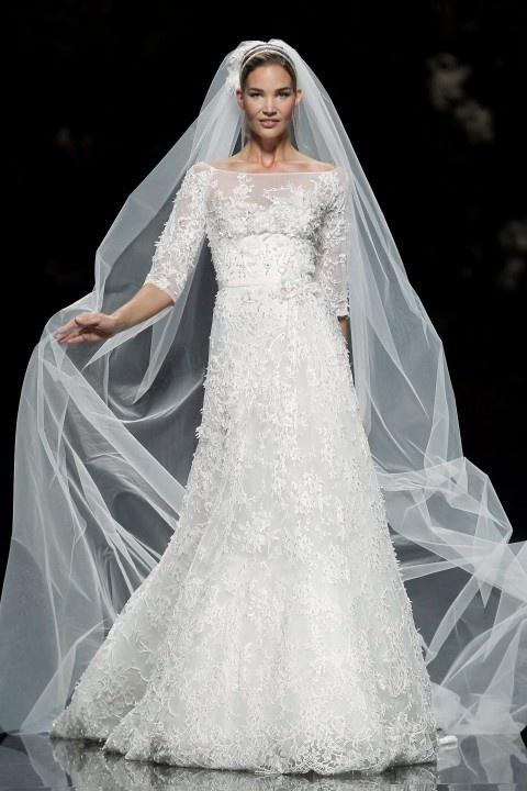 Elie Saab for Pronovias 2013 wedding dress collection, via Aphrodite's Wedding Blog