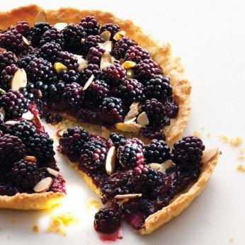 Blackberry Jam Tart ... Pies & Tarts