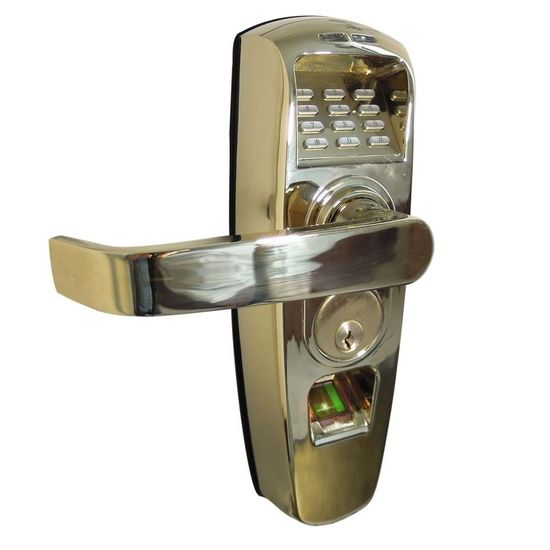 Actuator Systems ReliTouch Polished Brass Handle Lock-ACT-RC-203PB at The Home Depot